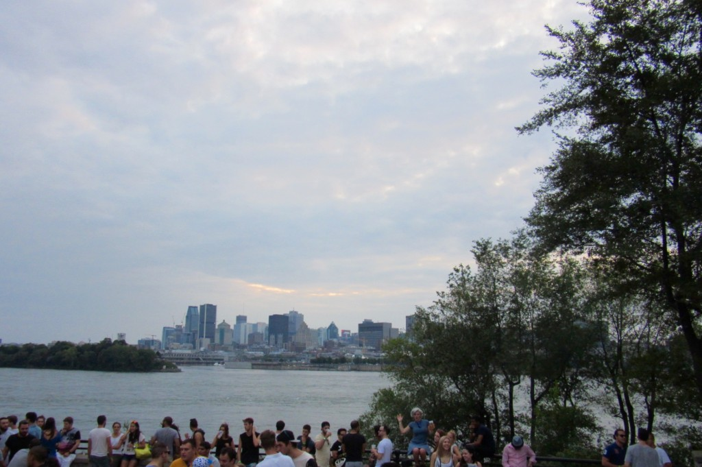 View of Montreal from the Parc Jean Drapeau